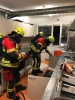 Feuer Asylunterkunft